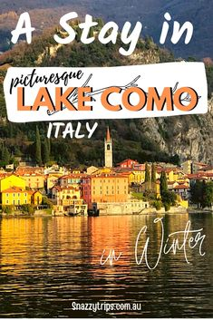 Lake Como In Winter Is Breathtaking 56 Places Around The World, Around The Worlds, Driving In Italy, Como Italy, Italy Travel Tips, Visit Italy, Holiday Destinations, Travel Destinations, Lake Como