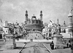 L'Exposition Universelle de 1900 - Lieux dans Paris ,l'ancien Palais du Trocadero