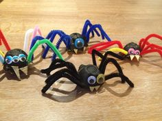 Recycled spiders
