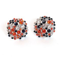 Ring in the summer with these dazzling dome earrings. They're perfect to pair with a sundress or just rock with jeans. Simple and sweet, these earrings are sure to be a hit well into game days in the fall. Football War, Auburn Football, Auburn Vs, Auburn Tigers, Tailgate Outfit, Super Bowl Rings, Auburn University, Trendy Fashion, My Style
