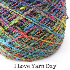 I am celebrating I Love Yarn Day by showing you some of my favourite yarns. I would love to know what your favourite yarns are.