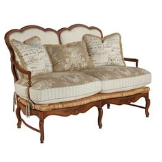 Kincaid 825-05  Sally Settee available at Hickory Park Furniture Galleries