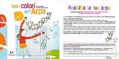 Il laboratorio interno del Museo dell'Arpa: Realizza la tua arpa. Facile, educativo e divertente.