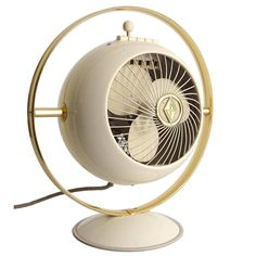 Vintage Copper Electric Radiant Heater Elegant Appearance Works