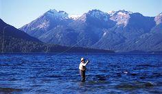 Pesca-Rio Limay. Neuquen -Argentina