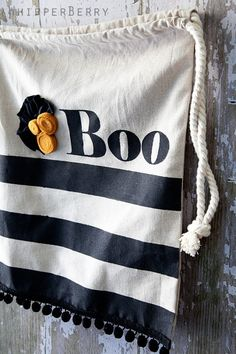 whipperberry's trick or treat bag - inspiration for next year