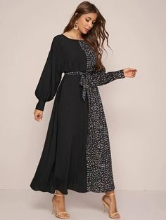 Jumpsuit Dress, Belted Dress, Fall Dresses, Casual Dresses, Modele Hijab, Coran Islam, Modest Wear, Latest African Fashion Dresses, Panel Dress