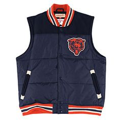 big sale 2bbd4 fb801 46 Best Chicago Bears Jackets images in 2015 | Bear jacket ...