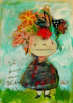 I wear your blossoms  http://www.ulikrappen.de/kaufladen.php