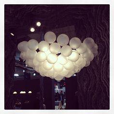 Cloud chandelier by Apparatus.