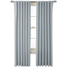 jcp | MarthaWindow™ Fairmount Basketweave Rod-Pocket/Back-Tab Cotton Curtain Panel