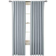 jcp | MarthaWindow™ Fairmount Basketweave Rod-Pocket/Back-Tab Cotton Curtain Panel