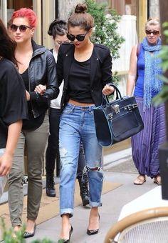 Selena Gomez chic street style