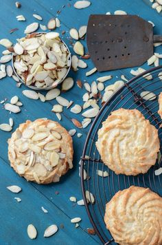 Ultimate Almond Cookies made with Almond Meal, Almond Paste, slivered Almonds
