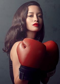 Christian Serratos photographed by Justin Bettman