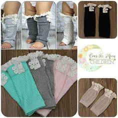 Wear them as leg warmers or boot socks!