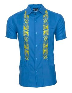 Merlot Burgundy Red Lux Linen blend guayabera is our newest fabric and amazingly lightweight. Khaki embroidery is artwork called Tails and Tentacles. Mens Hottest Fashion, Stylish Men, Men Casual, African Shirts, Bodo, Piece Of Clothing, Men's Clothing, Casual Elegance, Dressing Rooms