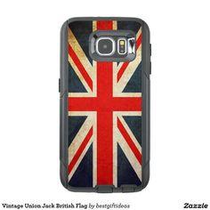 Vintage Union Jack British Flag OtterBox Samsung Galaxy S6 Case