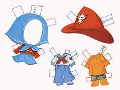 Bunson Liddle Kiddles paper doll clothes