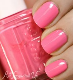 essie boom boom room nail polish swatch neon 1 500x548 Essie Neons 2013 Nail Polish Collection Swatches & Review