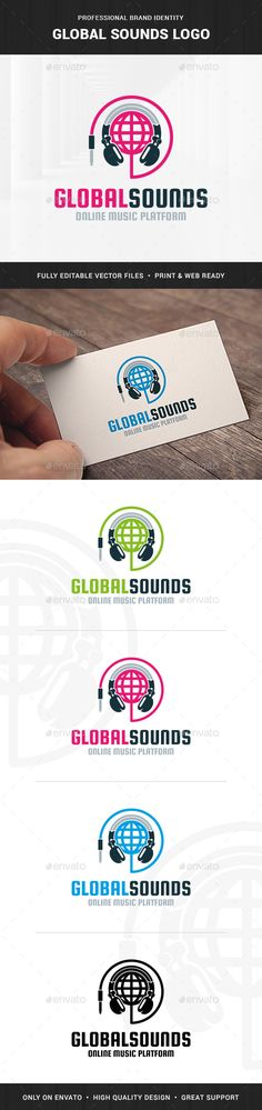 Global Sounds Logo Template - Objects Logo Templates Download here : http://graphicriver.net/item/global-sounds-logo-template/15742779?s_rank=160&ref=Al-fatih