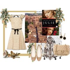 """My Polyvore Creation!!   """"Giulietta Tolomei ( Anne´s Fortier Novel """"Juliet"""")"""" by palomahc-hc on Polyvore"""