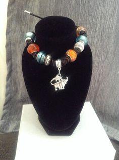 Taurus Knot Charm Bracelet by CreativeSoulSOT on Etsy https://www.etsy.com/listing/240847825/taurus-knot-charm-bracelet