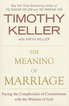 The-Meaning-of-Marriage  Excellent review and certainly one of the must reads of the summer for me!