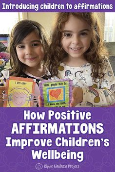 Learn how affirmations are a powerful tool for helping children develop resilience and self-belief. Kids with positive self-talk have improved wellbeing and confidence. Get tips for easily incorporating affirmations into your child's life to promote self-esteem. #affirmations #wellbeing #affirmationsforkids #mentalhealth #selfbelief #selfesteem #resilience