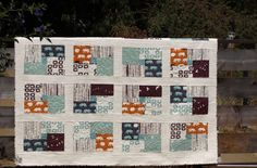 Camp Modern Northern Exposure Quilt Kit at Fabricworm, 70x84.