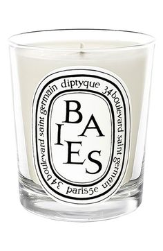 Free shipping and returns on diptyque 'Baies' Scented Candle at Nordstrom.com. A bouquet of roses and blackcurrant leaves; a companion to the diptyque eau de toilette L'Ombre Dans L'Eau.