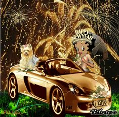 Happy New Year Animation, Happy New Year Gif, Happy New Year Quotes, Happy New Year Greetings, Happy Birthday Betty Boop, Happy Birthday Wishes Cake, An Nou Fericit, Little Girl Photography, Boop Gif