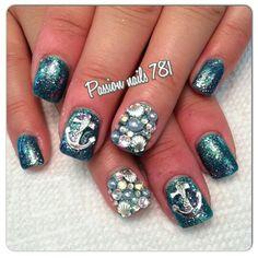 My new mermaid nails ❤ #passionnails781