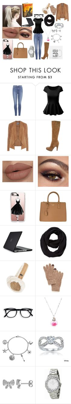 """Untitled #128"" by marieborrero on Polyvore featuring Paige Denim, Dorothy Perkins, Prada, Casetify, Speck, John Lewis, UGG, Steve Madden, Love This Life and Icz Stonez"