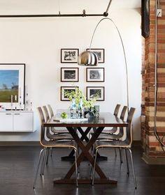 lmparas inspiracin arco curvas de diseo en tu saln terraza o despacho