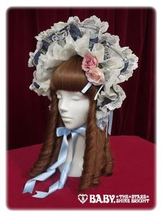 Last Note~Faint spring song~ Bonnet « Lace Market: Lolita Fashion Sales and Auctions