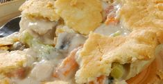 Homestyle Chicken Pot Pie – A Pan Full Of Goodness Chicken pot pies have never been this tasty.