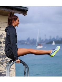 What Fitness Gurus Keep Stashed in Their Gym Bag: We suggest you take notes. Kayla Itsines - personal trainer