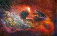 Ghost Rider by Bill Sienkiewicz