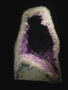 Natural History Museum - London 12th February 2015 // A large Amethyst rock.