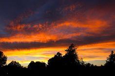 August sunset - Prescott