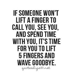 It's time to lift 5 fingers and wave goodbye