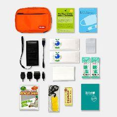 非常用携帯セット Rescue Set POCHI :1人用   非常用持ち出しセット,1人用   防災専門店 MT-NET