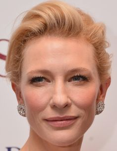 Cate Blanchett's Soft French Twist