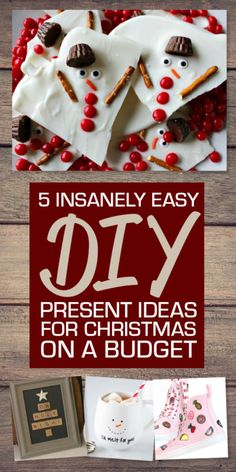 The best way to spread Christmas cheer is to create homemade presents for your nearest and dearest. There won't be a dry eye in the room when they unwrap these thoughtful offerings – just don't tell them...