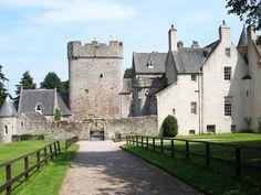 Drum Castle Garden Lost in Scotland   Drumoak, nr Banchory, Aberdeenshire, Scotland