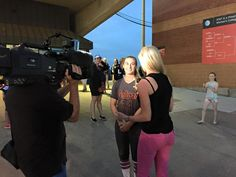 KIRSTI AFTER GAME INTERVIEW