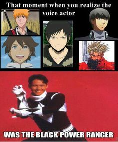 Johnny Yong Bosch is the nicest guy you can ever hope to meet at an Anime convention! He even crashes other people's panels and is a LOT of fun!! BTW, he was also a GREEN ranger. ☺