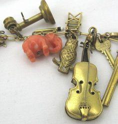 14k Gold Charm Bracelet – A Fascinating Array!