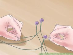 6 Ways to Make a Beaded Wire Tree Centerpiece - wikiHow